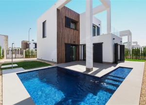 Brand New Villa with pool in residential complex,